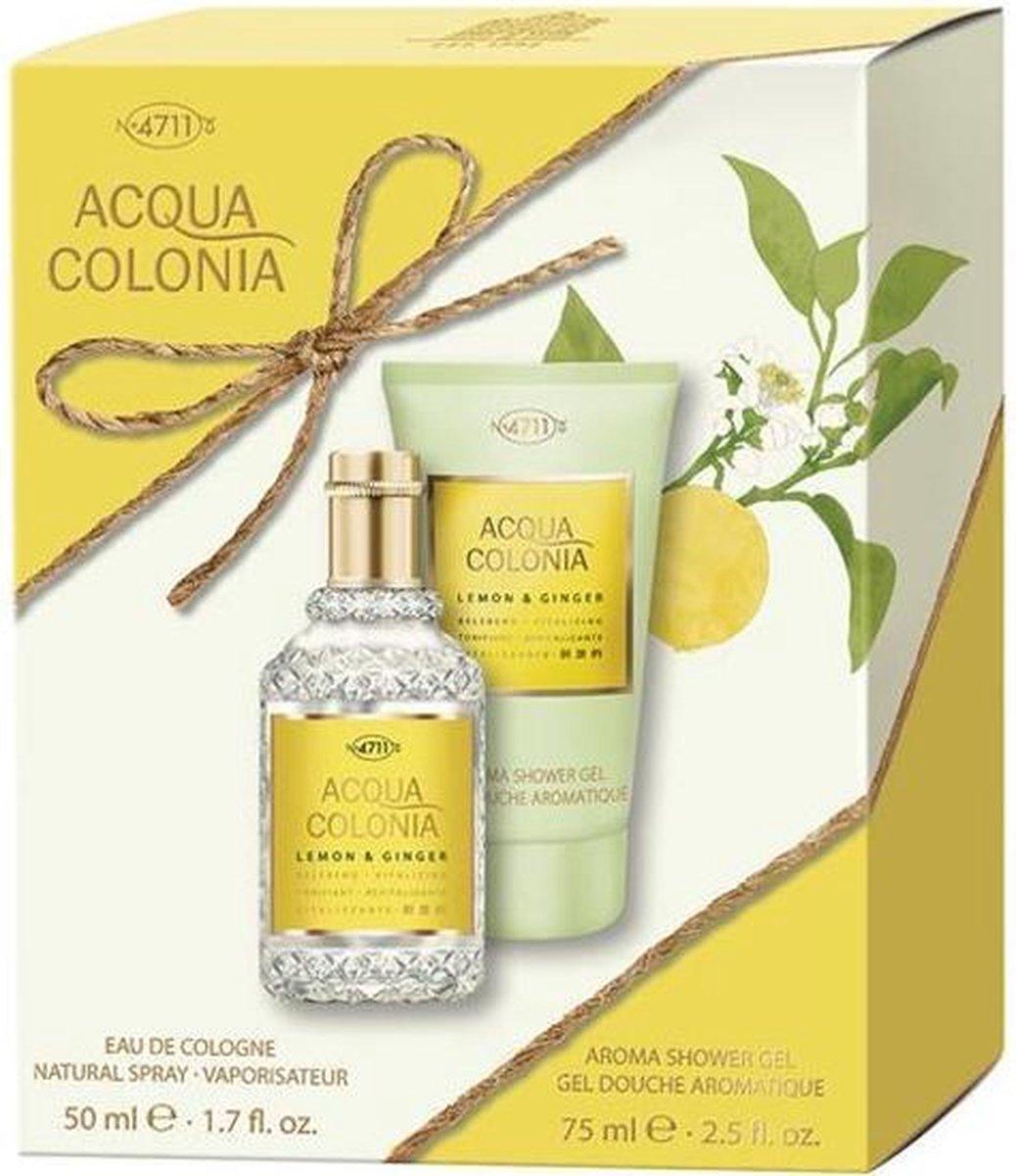 Acqua Colonia Lemon & Ginger geschenkset (2-delig) - 4711