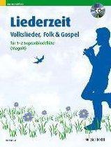 Liederzeit. 1-2 Sopran-Blockflöten. Ausgabe mit CD.