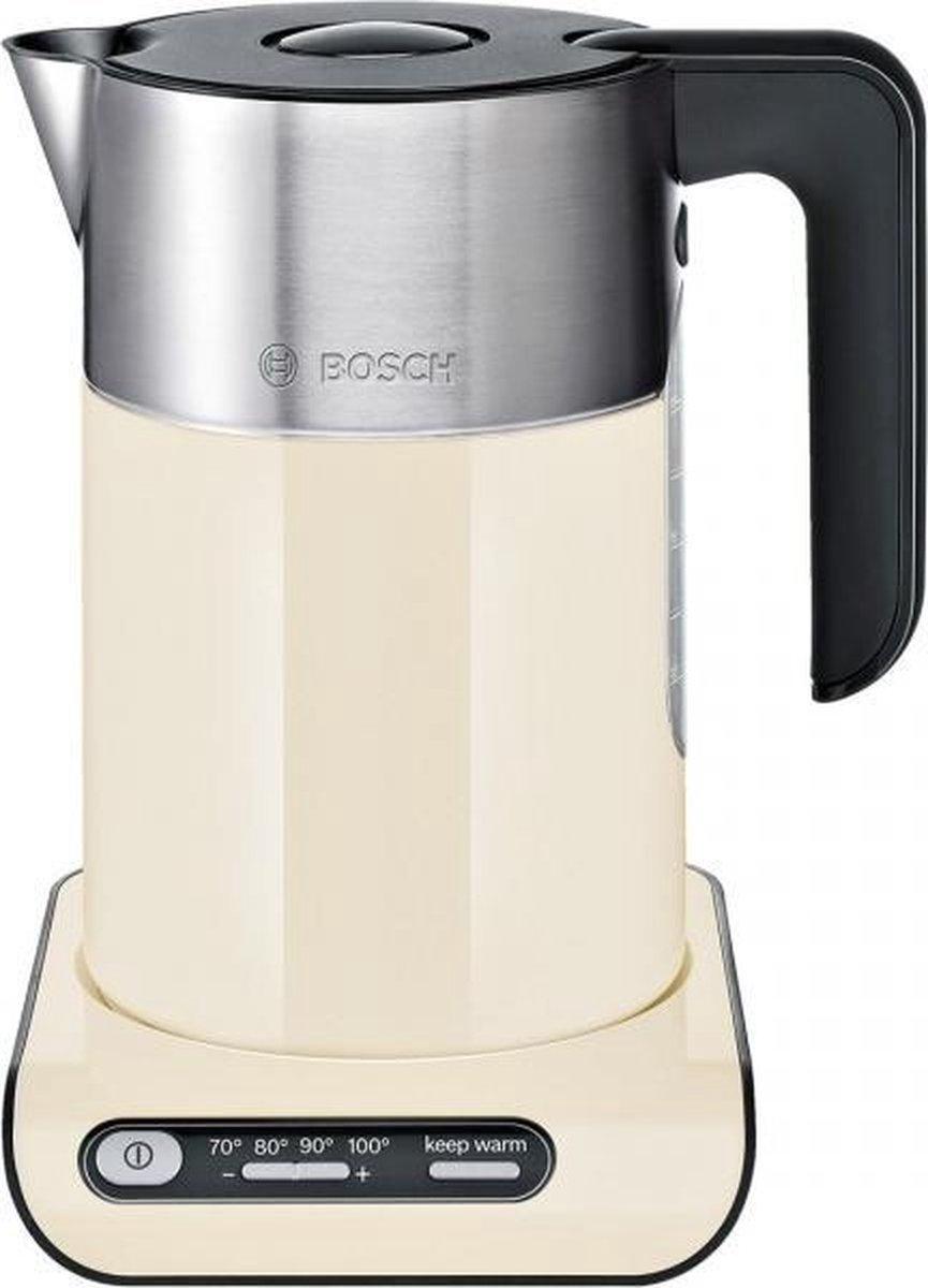 Bosch TWK8617P Styline Waterkoker Crème