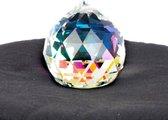 Regenboogkristal Bol Transparant AAA Kwaliteit Middel