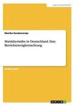 Maislabyrinthe in Deutschland. Eine Betriebszweigbetrachtung
