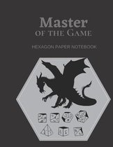 Mater of the Game - Hexagon Paper Notebook