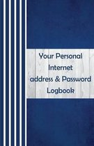 Your Personal Logbook Address & Password Internet
