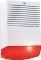 ELRO ADS1F Dummy Alarm Sirene met Knipperend LED Licht