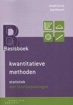 Boek cover Basisboek kwantitatieve methoden van Donald van As