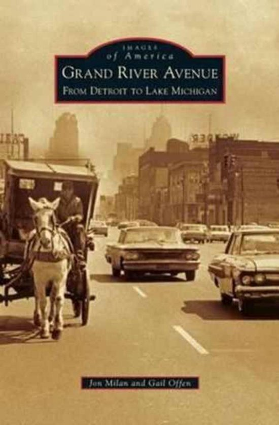 Boek cover Grand River Avenue van Jon Milan (Hardcover)
