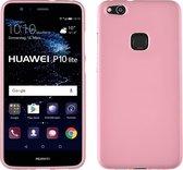MP Case Huawei P10 Lite Siliconen Hoesje TPU Roze Back Cover voor Huawei P10 Lite Back Case