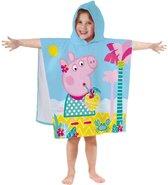 Peppa Pig Summer - Badcape - 60 x 120 cm - Multi