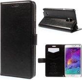 Kds PU Leather Wallet hoesje Samsung Galaxy Note 3 Neo zwart