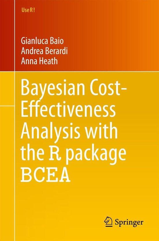 Boek cover Bayesian Cost-Effectiveness Analysis with the R package BCEA van Gianluca Baio (Onbekend)
