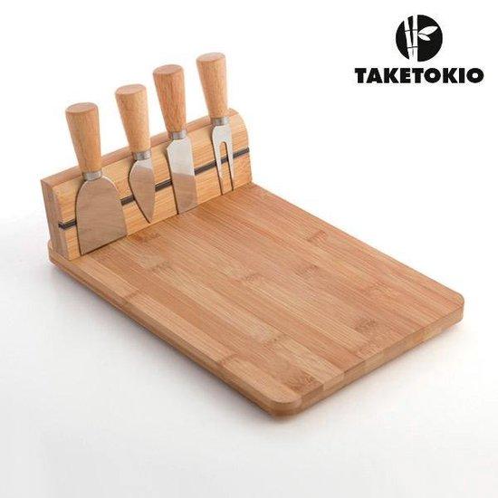 Bamboe Kaasplank Set (5 delig)