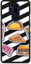 LG G7 Hardcase Hoesje Love Fast Food