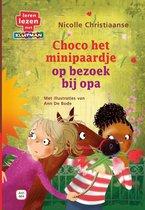 Choco het minipaardje  -   Choco op bezoek bij opa