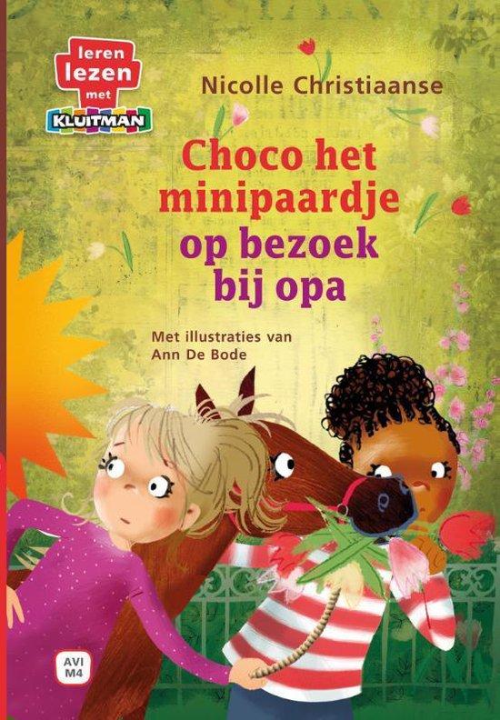 Leren lezen met Kluitman - Choco het minipaardje 3: Choco op bezoek bij opa - Nicolle Christiaanse |
