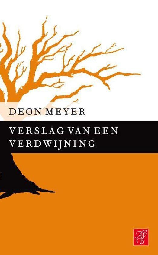 Verslag van een verdwijning - Deon Meyer |
