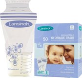Lansinoh Moedermelk Opbergzakjes - 50 Pack