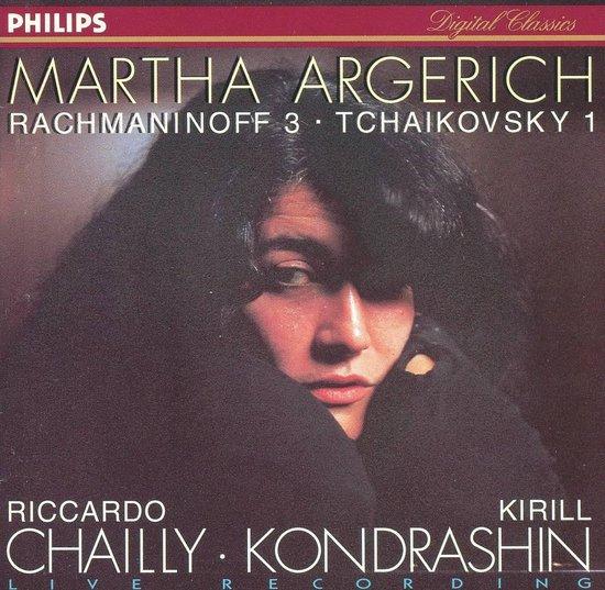 Argerich Martha/Rso Berlin - Pianoconcerto 3/Pianoconcerto 1
