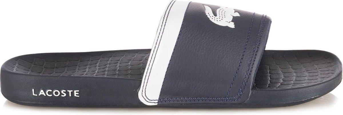 Lacoste Slipper met Logo 7-29SPM0057121 Blauw-47 - Lacoste