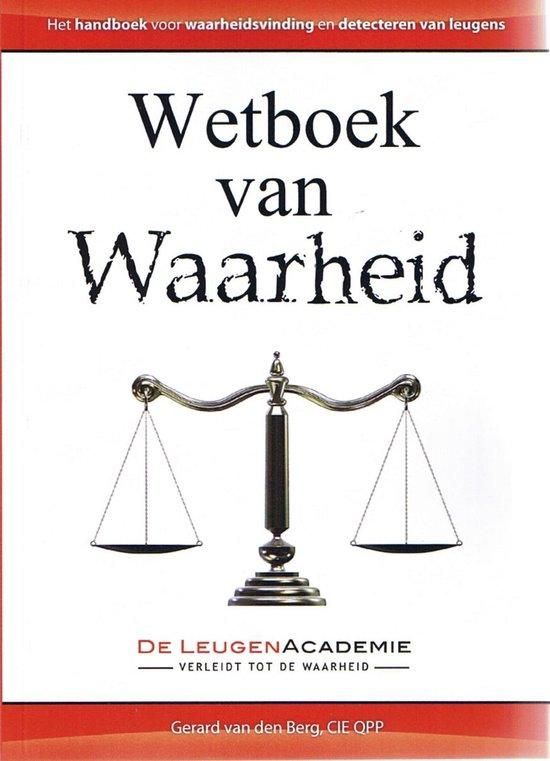 Wetboek van waarheid - Gerard van den Berg  