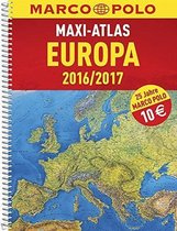 Europa Maxi Atlas 16/17 Wegenatlas Marco Polo