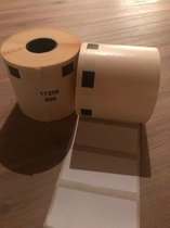 3 x Brother DK-11209 compatible labels wit, 62x29mm (800)