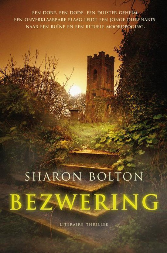 Boek cover Bezwering van Sharon Bolton (Paperback)