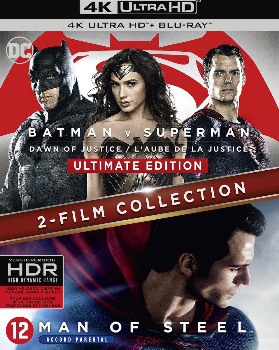 Batman v Superman - Dawn of justice + Man of steel (4K Ultra HD Blu-ray)-