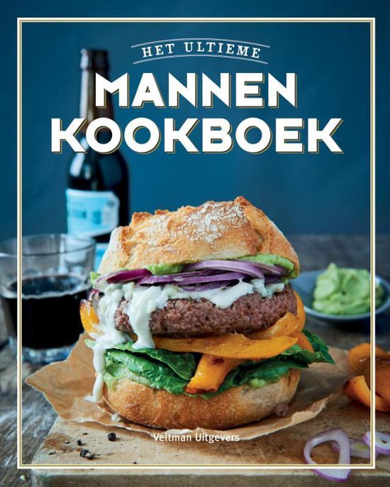 Boek cover Het ultieme mannenkookboek van Diverse auteurs (Hardcover)