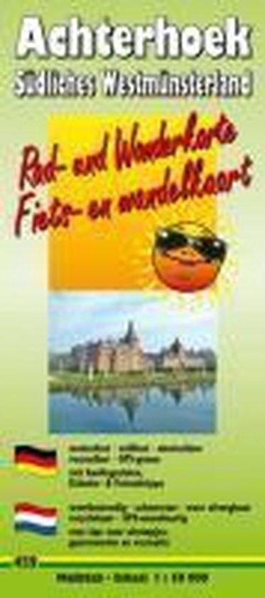 Rad- und Wanderkarte Achterhoek - Südliches Westmünsterland 1 : 50 000 - Publicpress |
