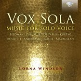 Vox Sola: Music For Solo Voice