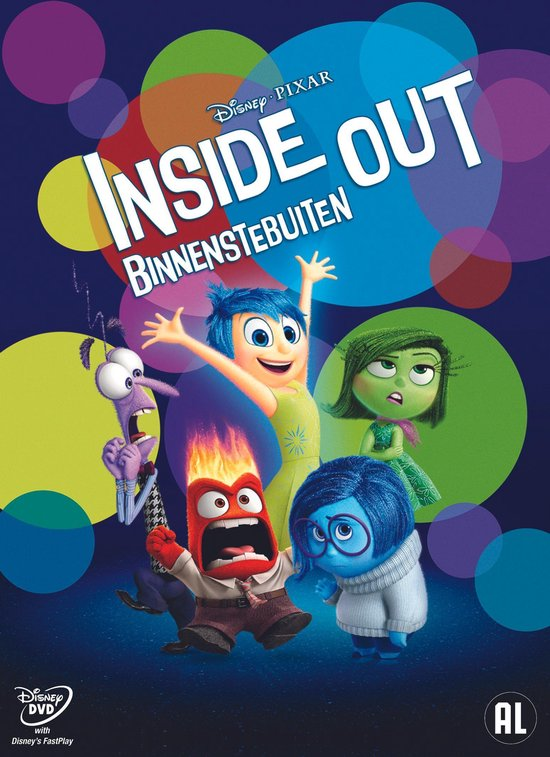Walt Disney - Binnenstebuiten (Inside Out)