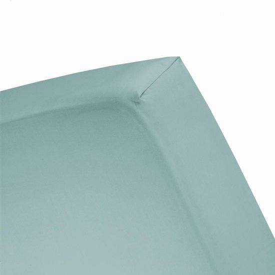 Damai - Hoeslaken (tot 25 cm) - Katoen - 80/90 x 220 cm - Mineral