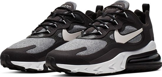 Nike Air Max 270 React Sneakers - Maat 46 - Mannen - zwart/grijs