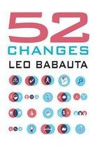Boek cover 52 Changes van Leo Babauta