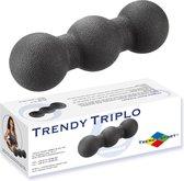 Trendy Sport Massagebal Trendy Triplo - Driedubbele Trigger point therapie bal - ∅ 8 cm Zwart