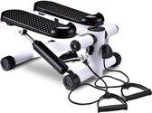 Happyment Stepper met weerstandskabels - Geïntegreerde computer - Mini swing stepper - Fitnessapparaat