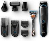 Braun MGK5280 9-in-1 Trimmer, Baardtrimmer Voor Mannen - Bodygroomer En Haartrimmer - Zwart/Blauw
