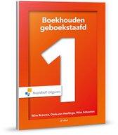 Boek cover Boekhouden geboekstaafd 1 incl. toegang tot Prepzone van W.J Broerse