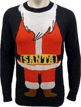 Foute Kersttrui Heren / Mannen - Christmas Sweater - Santa Pak - Kerst Trui Maat XL
