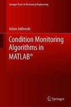 Condition Monitoring Algorithms in MATLAB®