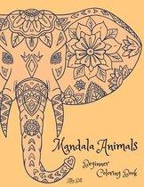 Mandala Animals Beginner Coloring Book