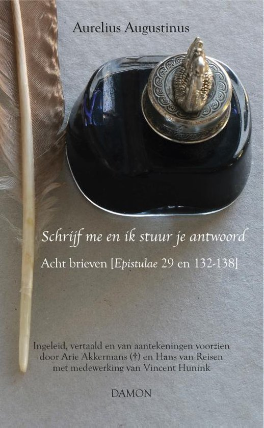 Boek cover Augustinus uitgaven  -   Schrijf me en ik stuur je antwoord van Aurelius Augustinus (Hardcover)