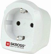 SKROSS - Reisstekker/Wereldstekker - Europa naar Engeland (UK) - Zwitserse Kwaliteit