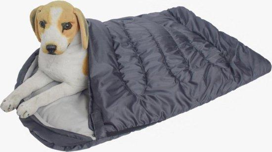 Dogs&Co Slaapzak voor de hond Grijs 115x75cm - Hondenslaapzak