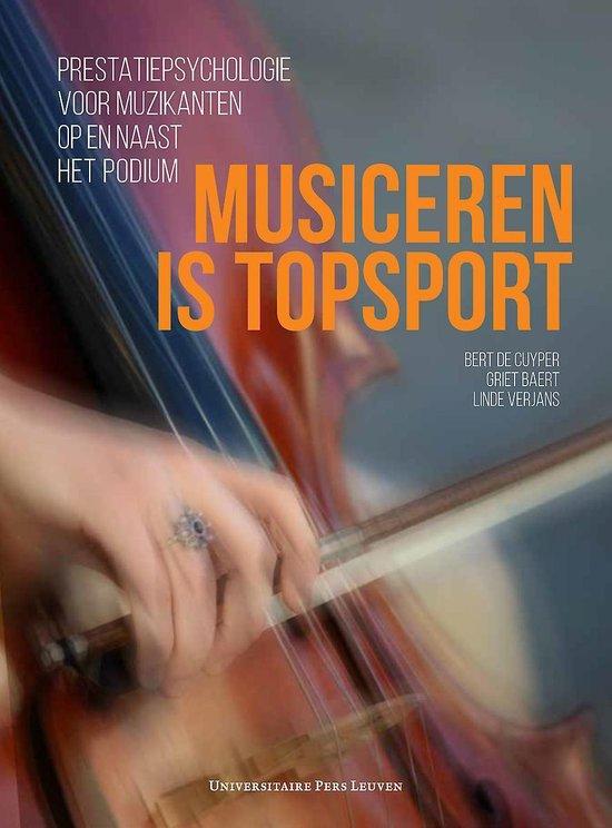 Musiceren is topsport - musicus en burn-out