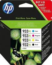 HP 932XL / 933XL - Inktcartridge / Zwart / Kleur /