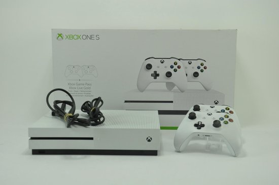 Xbox One S console 1 TB + tweede controller