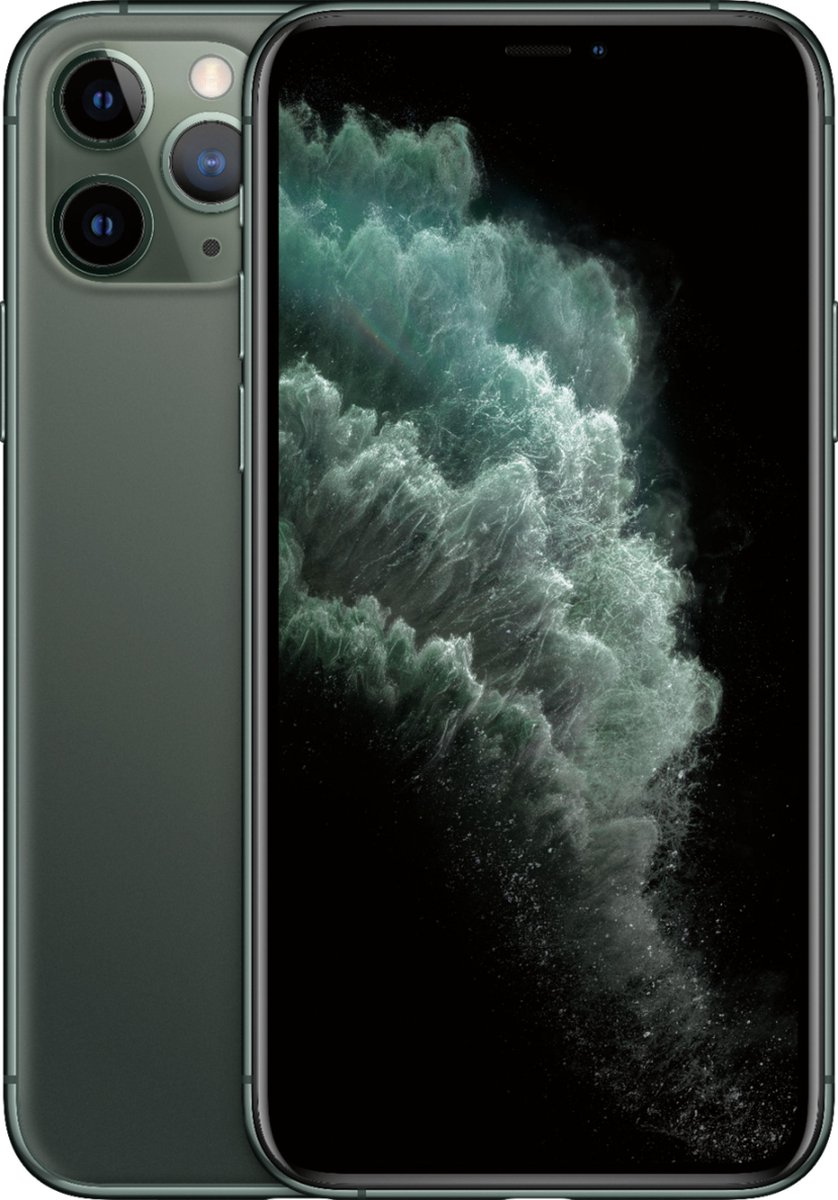 Apple iPhone 11 Pro - Refurbished door SUPREME MOBILE - A GRADE (Zo goed als nieuw) - 256GB - Middernachtgroen