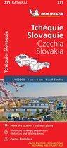 Michelin 731 Tsjechie, Slowakije 2021