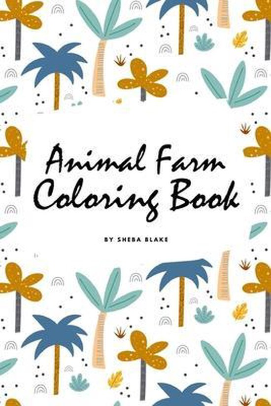 Animal Farm Coloring Book for Children (6x9 Coloring Book / Activity Book)